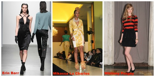 Emerging designers showing during New York Fashion Week