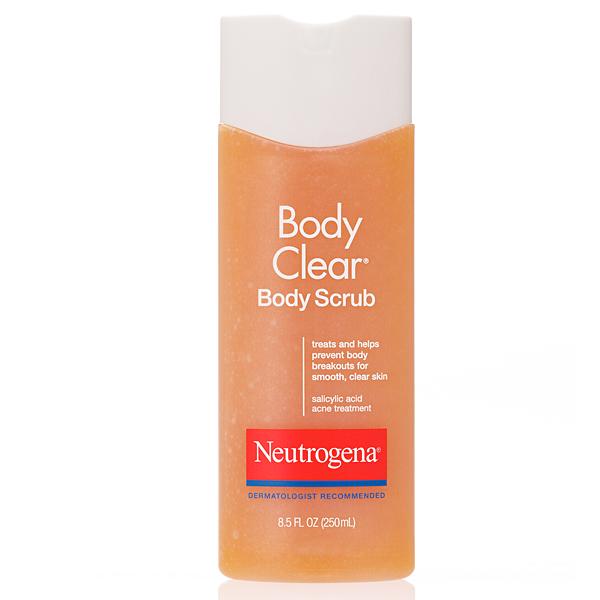 Friday Favorite Neutrogena Body Clear Body Scrub And Body Clear