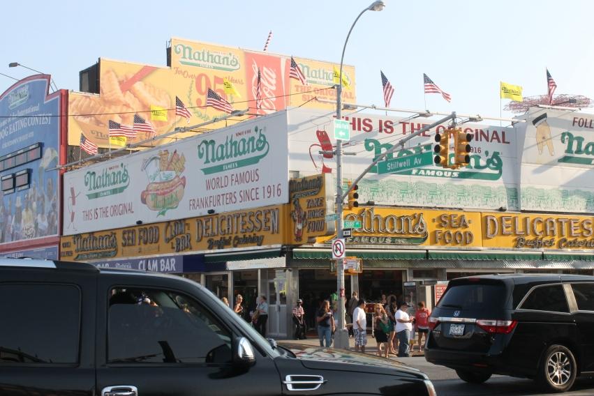coney island  trip new York City