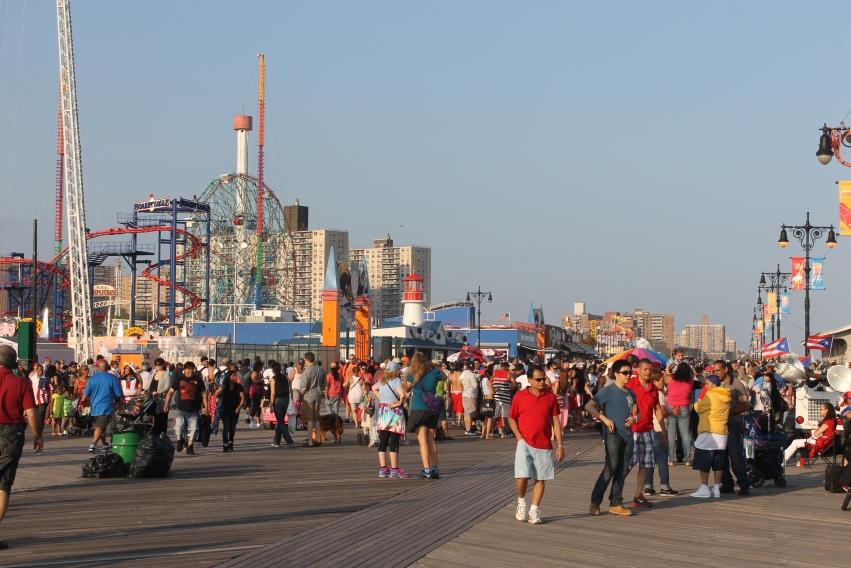 coney island  rides new York City