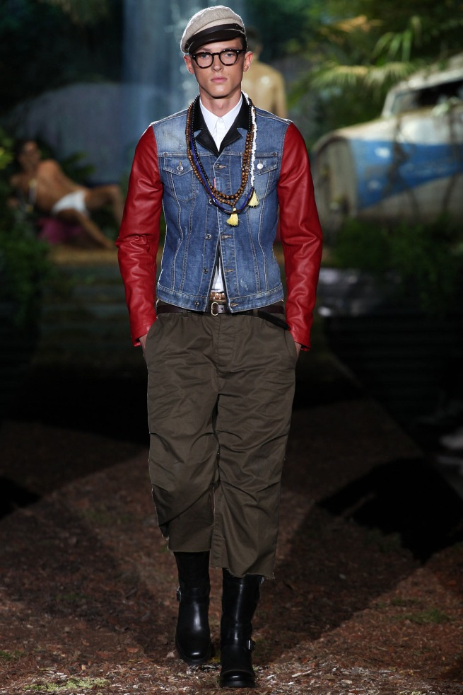 Dsquared Spring 14 Men Ready To Wear