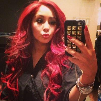 snooki red hair