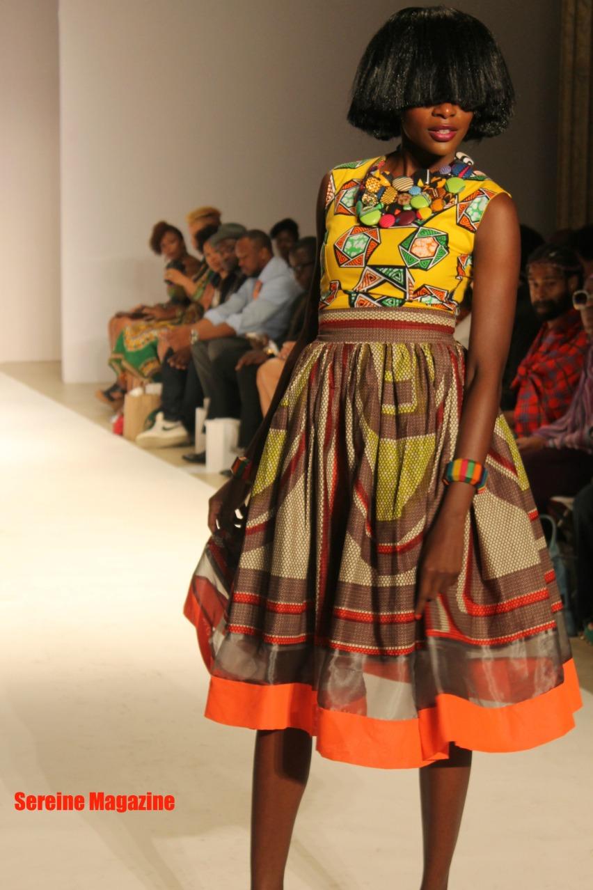 Kaela Kay African fashion week 2013 Collection
