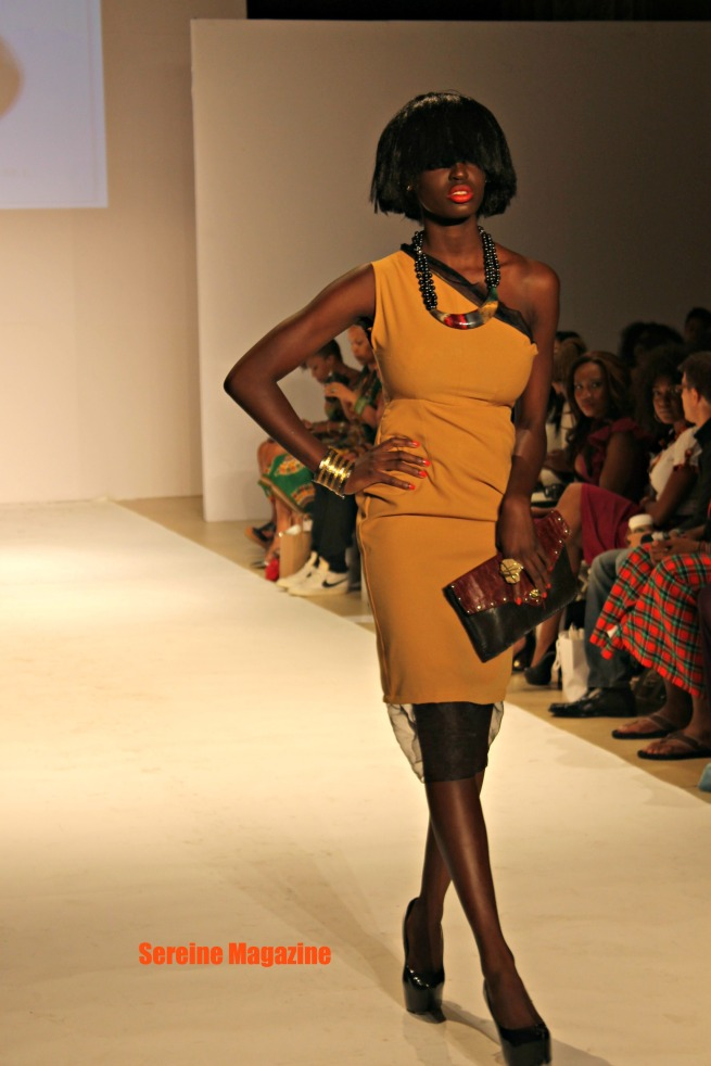 Cinnamon&Pearl  African Fashion Week New York 2013 summer collection