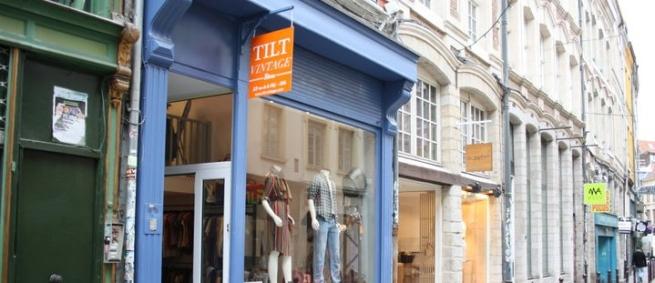 Tilt Vintage boutique Marais Paris