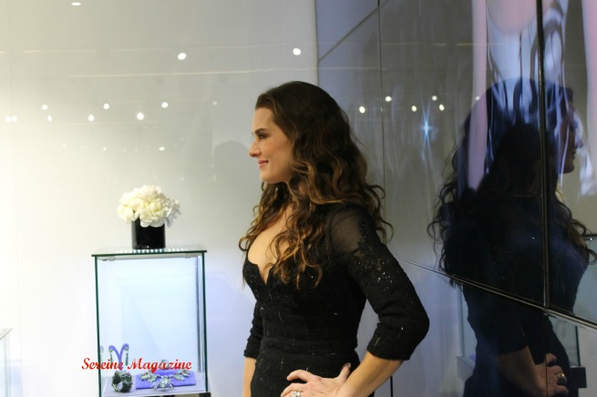 Brook Shields at the Dennis Basso Flagship New York Store Opening