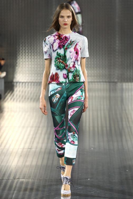 LFW Mary Katranzou Spring 14 Collection