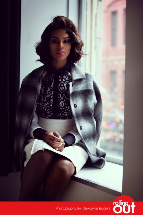 Tika Sumpter For Rolling Out Magazine