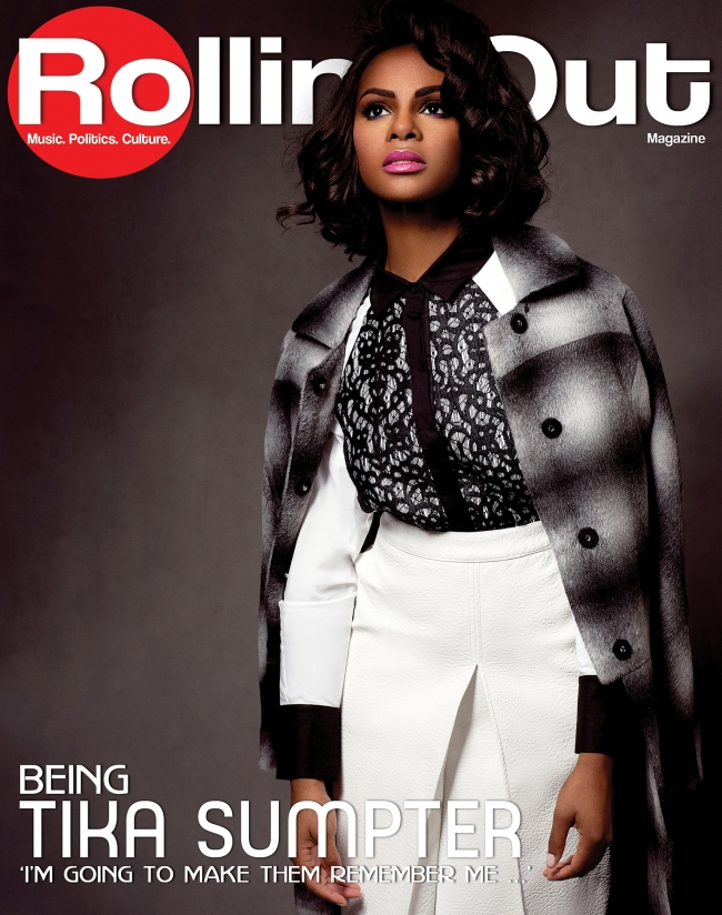 Tika SumpterFor Rolling Out Magazine