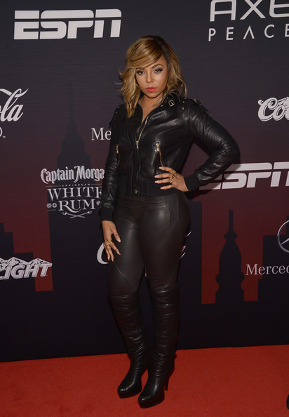 Ashanti at the ESPN 2014 super Bowl Partyl