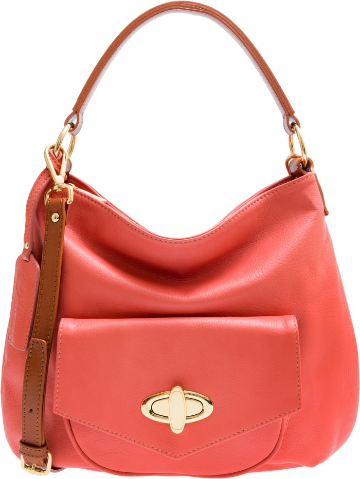 Georgia Coral Peony&Moore handbags