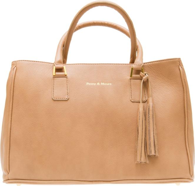 Lauren in Nude Peony&Moore handbags